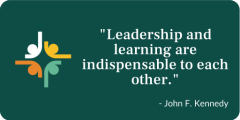 leadership and learning are indispensable